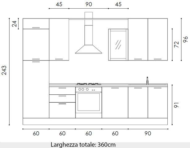 Top Cucina Dimensioni - Modelos De Casas - Justrigs.com