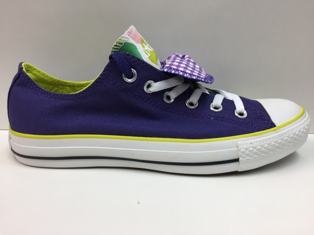 SCARPE SNEAKERS UNISEX CONVERSE ALL STAR ORIGINALE CT DBL TNG POIS OX 115347 NEW