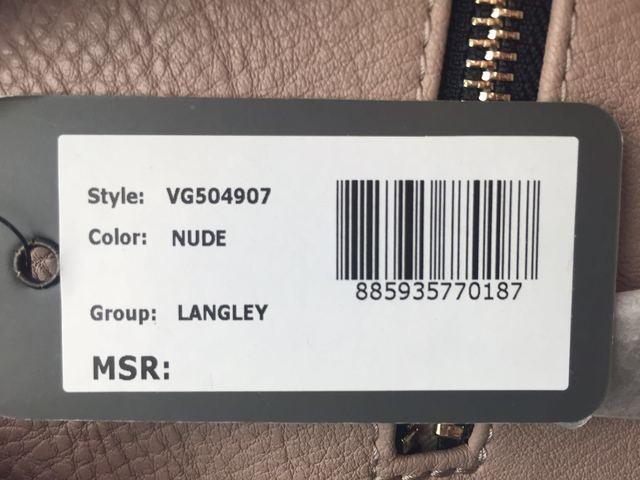 BORSA BORSE DONNA GUESS ORIGINALE LANGLEY HWVG5049070 ECO PELLE BAG P/E 2016 NEW