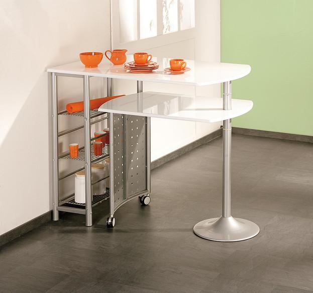 Tavolo per colazione Compact, mobile cucina moderno salvaspazio