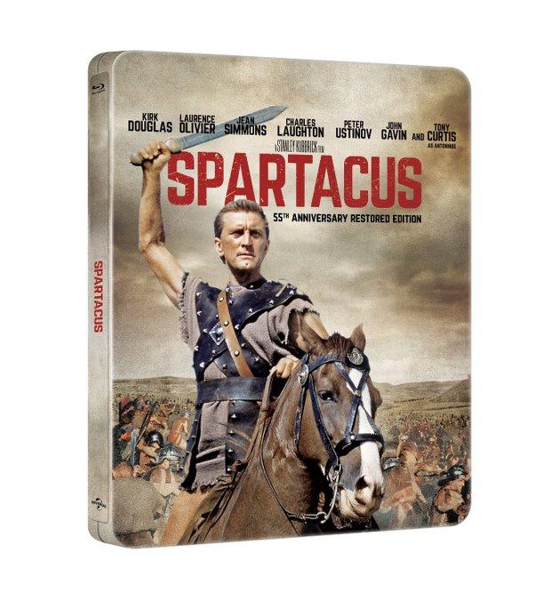 spartacus steelbook