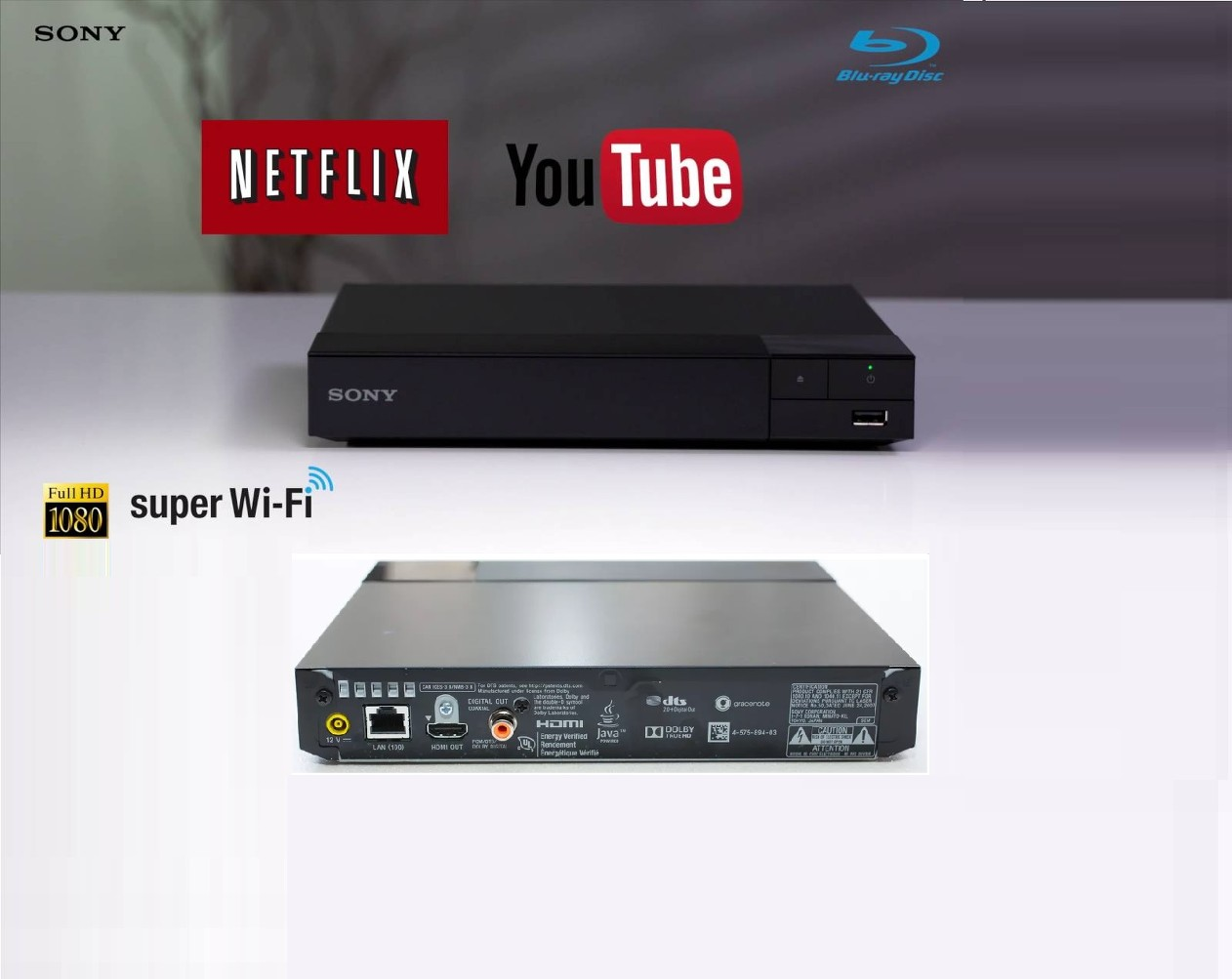 how to use usb blu ray player