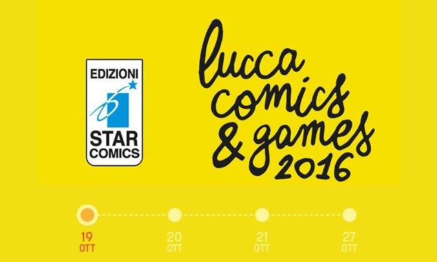star comics lucca 2016