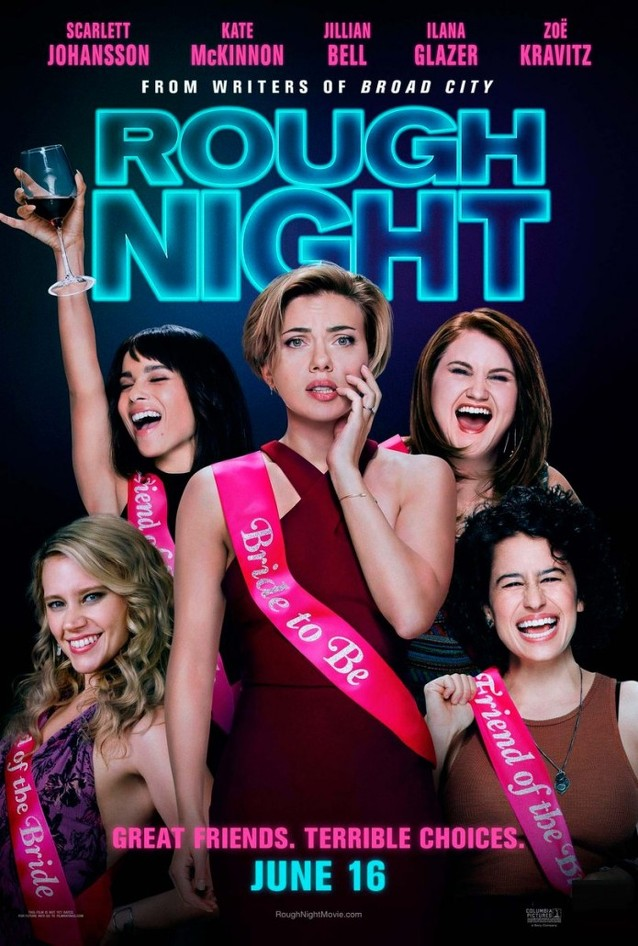 Πάρτι Γυναικών (Rough Night) Poster