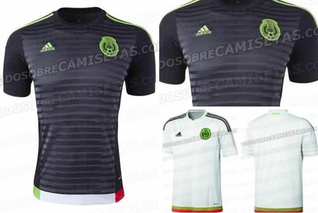 c56fc08d1887a Filtran nuevo uniforme negro de la Selección Mexicana para la Copa América  2015