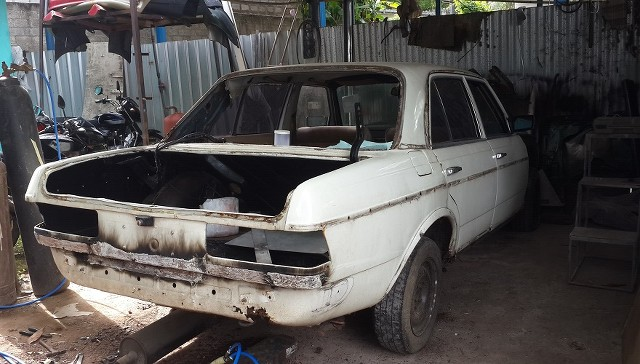 W123 Restoration - MERCEDES BENZ - AutoLanka