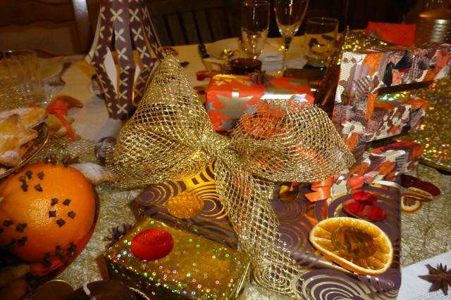 decoration de noel orange. Black Bedroom Furniture Sets. Home Design Ideas