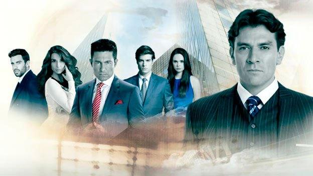 Otra de las imágenes publicitarias de la telenovela Pasión y poder