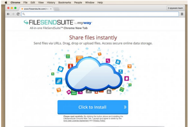 File Send Suite Toolbar