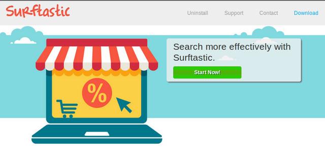 Surftastic。ネットポップアップ