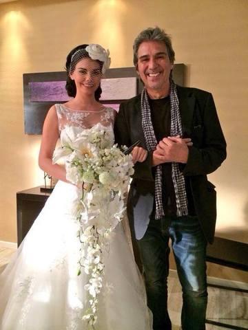 Livia Brito y Pedro Damián