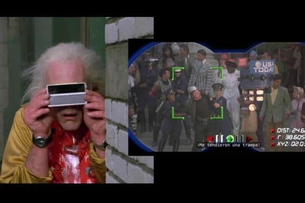 Volver al futuro 2, binoculares