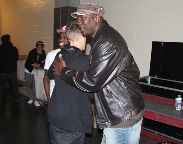 Foto 3 de Justin Bieber y Michael Jordan