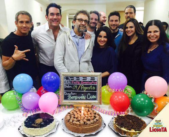Foto del elenco y producción de la telenovela