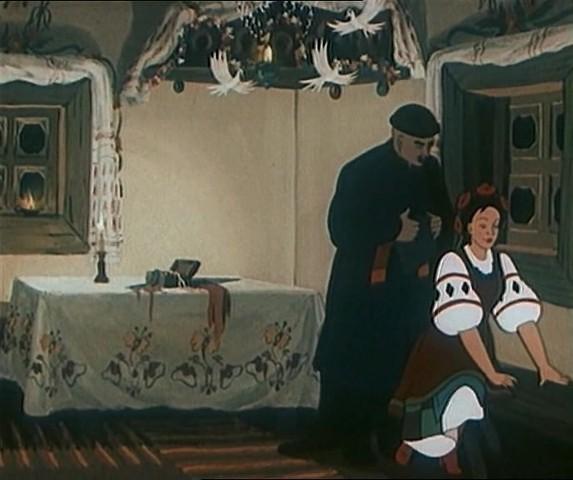 Картинки ночь перед рождеством гоголя мультфильм, души для