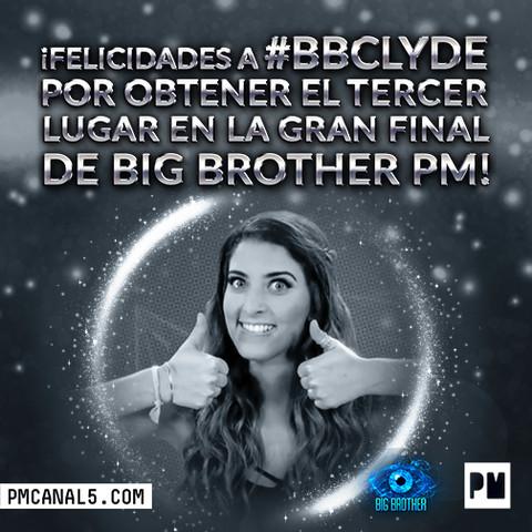 Danielle es el tercer lugar de Big Brother