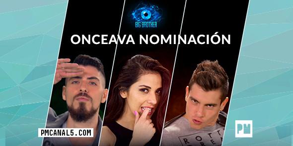 Últimos Nominados de Big Brother México