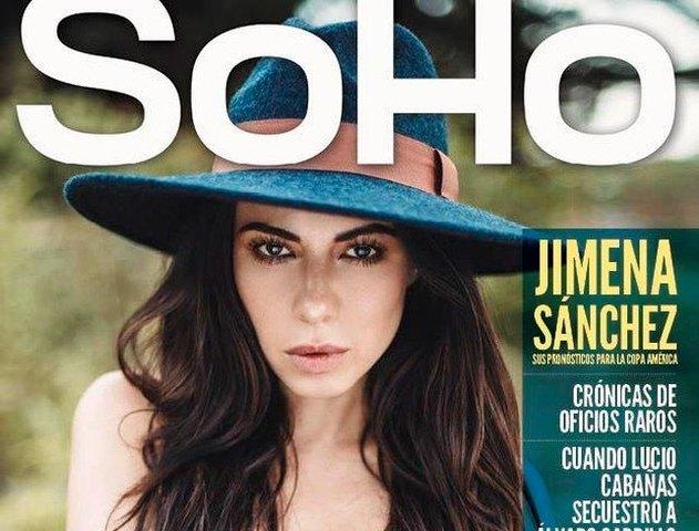 Jimena Sánchez en Soho