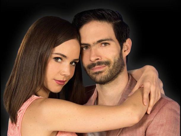 Protagonistas de la telenovela