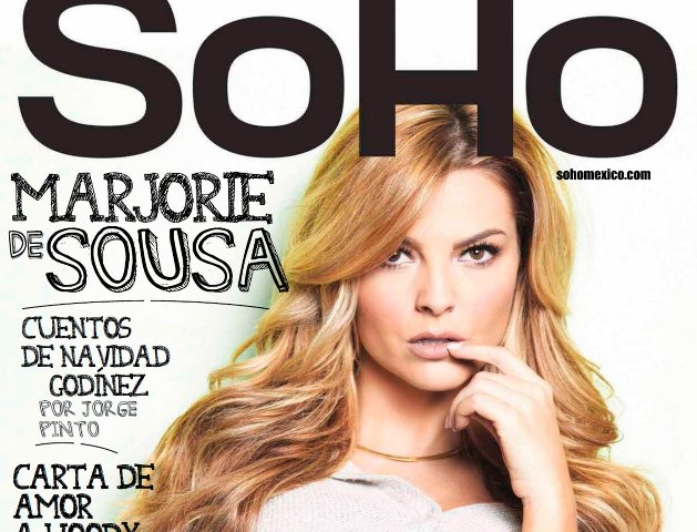 Marjorie De Sousa en la revista SoHo