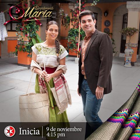 Presentación oficial de la telenovela «Simplemente María»