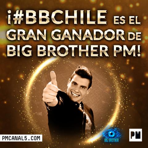 Eduardo Miranda 'Chile'  Ganador de Big Brother 2015