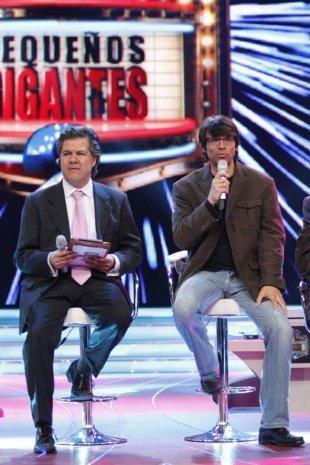Santiago y Rubén Galindo productores de Me Pongo de Pie