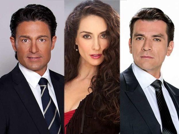 Foto de Fernando Colunga, Jorge Salinas y Susana González