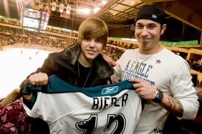 Justin y su padre