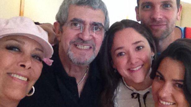 Manuel Flaco Ibáñez, Sylvia Pasquel, Sherlyn, Patricio Borghetti y Maite Perroni