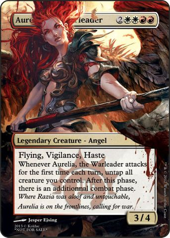 Aurelia, the HBIC - Multiplayer Commander Decklists ...