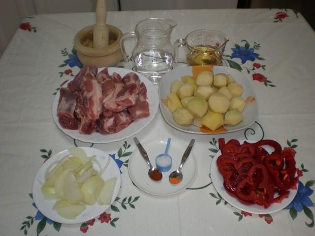 gNCa0A - Costillas de cerdo con Manises