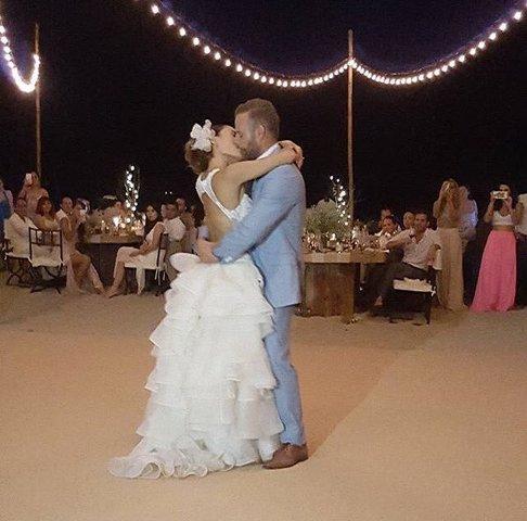 Marimar Vega y el actor Luis Ernesto Franco se casaron
