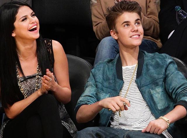 Foto de Justin Bieber con Selena Gomez