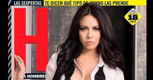 Jimena Sánchez en la revista H