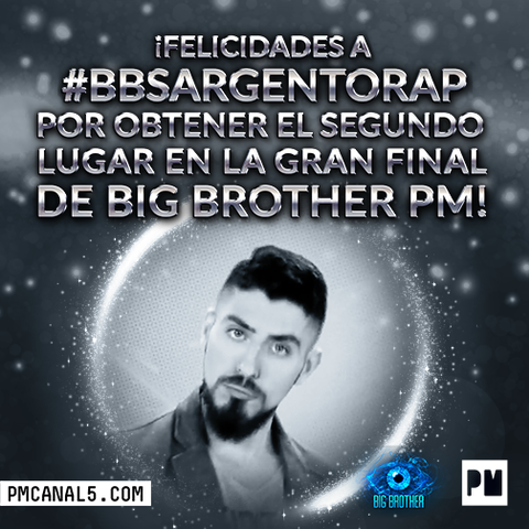 Sargento Rap se quedo en segundo lugar de Big Brother