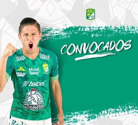 Convocados del León para enfrentar al Pachuca
