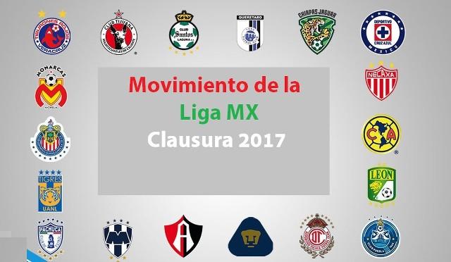 Todo sobre los movimientos oficiales de la Liga MX  – Clausura 2017