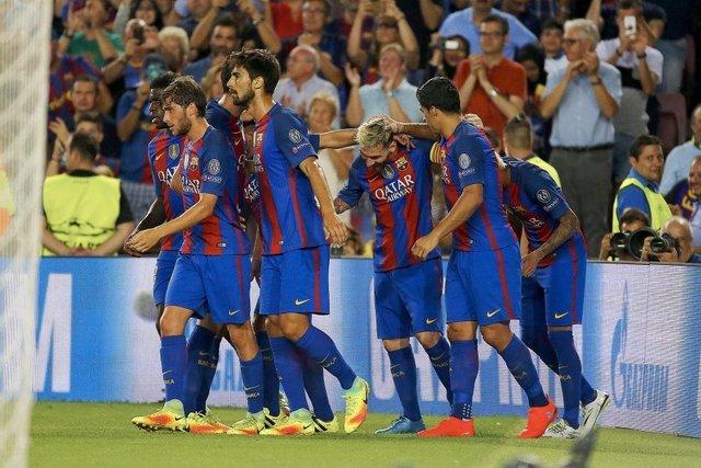 Golea Barcelona 7-0 al Celtic en la champions League