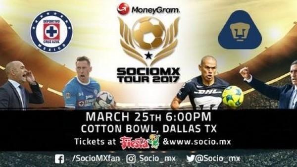 Cruz Azul y Pumas tendrán partido amistoso en esta fecha FIFA