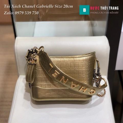 Túi xách Chanel Gabrielle siêu cấp size 20cm