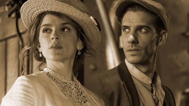 Foto de Irene Azuela y Erick Elías