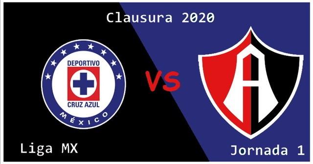 Cruz Azul vs Atlas  – Transmisión Por TV , Fecha, Hora y más- Jornada 1 – Clausura 2020