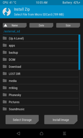 RECOVERY] [MT6735m] TWRP 3 0 2-0 Unofficial… | Android Development