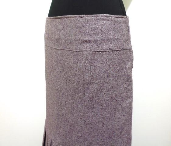 newest f14e2 33e5b Details about Liu Jo Skirt Woman Wool Jersey Wool Woman Skirt SZ.L - 46