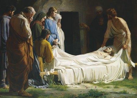 Sepultura de Jesús