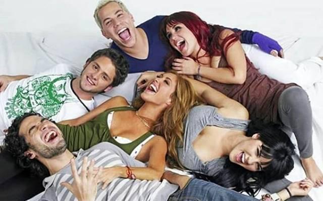 Los seis integrantes de RBD se reencuentran