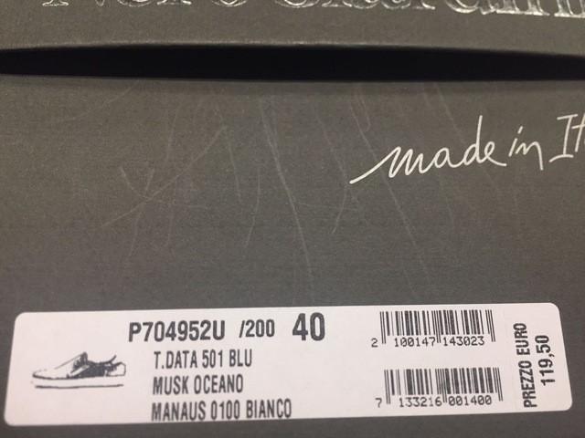SCARPE SNEAKERS SLIP ON UOMO NERO GIARDINI ORIGINALE P704952U PELLE P/E 2017