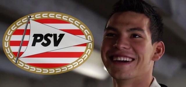 Así llega Hirving Lozano al PSV Eindhoven (Secuencia de Videos)