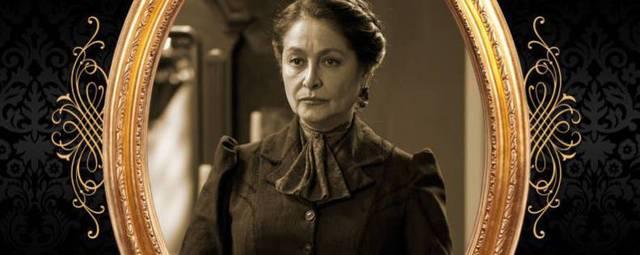 Daniela Romo en su personaje de Ángela Gómez Vda. de Salinas